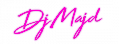 Dj Majd logo Pink